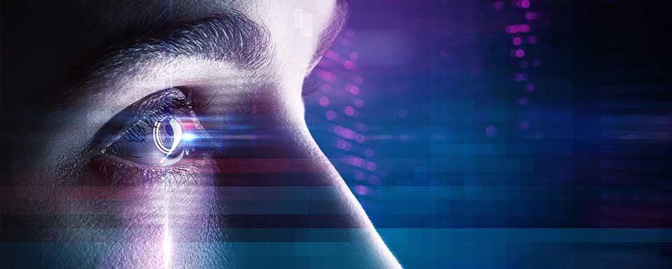 Alta tecnología ojo