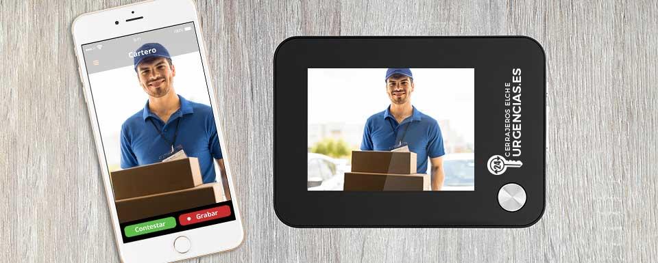 Sistema de seguridad mirilla digital con aplicación móvil